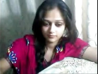 Indian teen masturbating on webcam - otocams.com