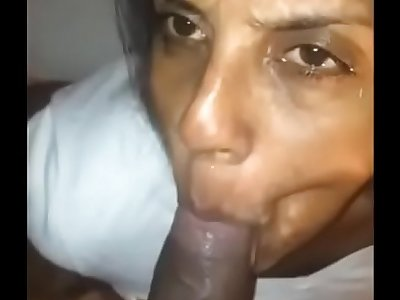 friends wife giving blowjob