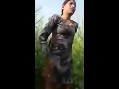 Indian Girl First time Sex Condition outdoor